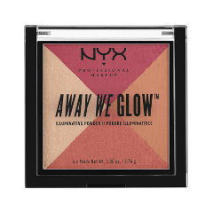Хайлайтер NYX Professional Makeup Away We Glow Illuminating Powder 05 (Цвет 05 Sunset Blvd variant_hex_name E67183) пудры nyx professional makeup финишная пудра nofilter finishing powder golden 11