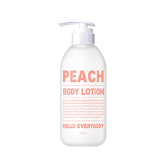 Лосьон для тела Hello Everybody Peach Body Lotion (Объем 500 мл) лосьон для тела holika holika farmer s market peach body lotion объем 240 мл