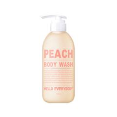 Гель для душа Hello Everybody Peach Body Wash (Объем 500 мл) hempz гель для душа тройное увлажнение triple moisture herbal body wash 250 мл
