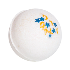 Бомба для ванны Tasha Бурлящий шарик для ванны Волшебная ночь бомба для ванны мыловаров капкейк для ванны мерри берри объем 170 г