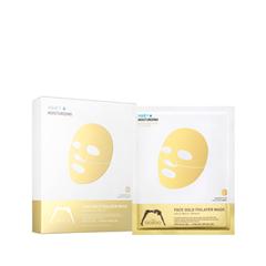 Тканевая маска The Oozoo Набор Face Gold Foilayer Mask (Объем 10х25 мл) anon маска сноубордическая anon somerset pellow gold chrome