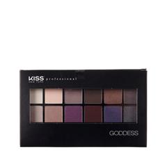 Для глаз Kiss New York Professional Goddess Palette Eyeshadow 02 (Цвет 02 Selene variant_hex_name 855572) kiss new york professional палетка теней для век hexa 6 оттенков pink taupe 10 5 г