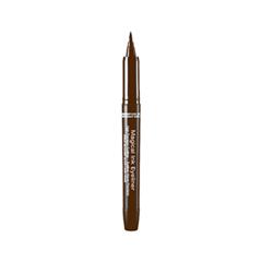 Подводка Kiss New York Professional Magical Ink Eyeliner 02 (Цвет 02 Darkest Brown variant_hex_name 4D2C11) подводка essence liquid ink eyeliner 02 цвет 02 bronzy
