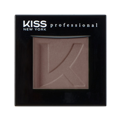 Тени для век Kiss New York Professional Single Eyeshadow 15 (Цвет 15 Doe variant_hex_name 7C6761) помада kiss new york professional ulti matte lip crayon 13 цвет 13 hell s kitchen variant hex name ed657d