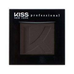 Тени для век Kiss New York Professional Single Eyeshadow 47 (Цвет 47 Soot variant_hex_name 413837) тени для век kiss new york professional single eyeshadow 15 цвет 15 doe variant hex name 7c6761