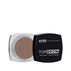 Помада для бровей Kiss New York Professional Top Brow™ Brow Cream 01 (Цвет 01 Blonde variant_hex_name 867264) раковина мебельная эстет бали 80 2000949096209