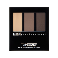 Для бровей Kiss New York Professional Top Brow™ Brow KIt (Цвет 03 Brunette variant_hex_name 8C7163) urban decay brow box набор для бровей brunette betty