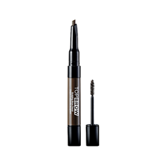 Тушь для бровей Kiss New York Professional Top Brow™ Sculpting Brow Pencil 03 (Цвет 03 Brunette variant_hex_name 73604C) ardell brow sculpting gel где купить