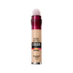 Консилер Maybelline New York The Eraser Eye Concealer 01 (Цвет 01 Светло-бежевый variant_hex_name E4BC9B Вес 50.00) консилер maybelline new york the eraser eye concealer 02 цвет 02 бежевый variant hex name d5ad8e вес 50 00