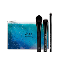 Набор кистей для макияжа NYX Professional Makeup In Your Element Water Face Brush Set 12pcs set makeup brushes procession makeup brush set kit cosmetic beauty essentials foundation brush eyeblow blusher makeup tool