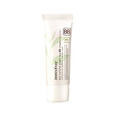 BB крем InnisFree Eco Natural Green Tea BB Cream SPF29 PA++ 02 (Цвет 02 Natural Beige variant_hex_name EBC7AC) the saem eco soul porcelain skin bb cream light beige бб крем тон 01 45 мл