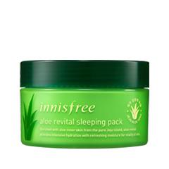 Снятие макияжа InnisFree Aloe Revital Sleeping Pack (Объем 100 мл) the skin house energy sleeping pack ночная увлажняющая маска 50 мл