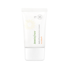 Защита от солнца InnisFree Daily UV Protection Cream No Sebum SPF35/PA+++ (Объем 50 мл)