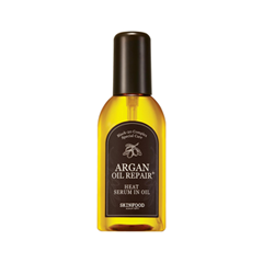Масло SkinFood Argan Oil Repair Plus Heat Serum in Oil (Объем 100 мл) маска kativa argan oil intensive repair treatment объем 35 г