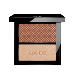Румяна Ga-De Velveteen Blush and Shimmer Duet 22 (Цвет 22 Bronze And Glow variant_hex_name DFBA9D) недорого