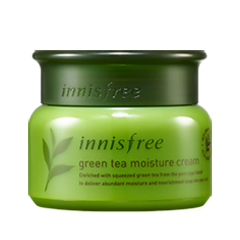 Крем InnisFree Green Tea Moisture Cream (Объем 50 мл) гидрофильное масло it s skin green tea calming cleansing oil объем 145 мл