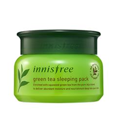 Ночная маска InnisFree Green Tea Sleeping Pack (Объем 80 мл)
