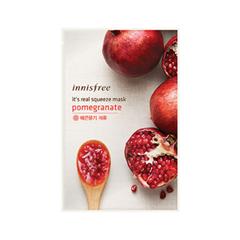 Тканевая маска InnisFree It's Real Squeeze Mask Pomegranate (Объем 20 мл) 2pcs pomegranate