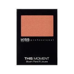 Румяна Kiss New York Professional This Moment Blush 03 (Цвет 03 After Noon variant_hex_name D07A5F) with this kiss