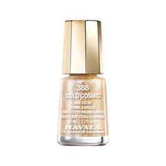 Лак для ногтей Mavala Cosmic Nail Collection Holiday 2017 388 (Цвет 388 Gold variant_hex_name CDAEAB)