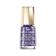 Лак для ногтей Mavala Cosmic Nail Collection Holiday 2017 389 (Цвет 389 Violet variant_hex_name 482152) mavala набор комплекс 3 mavala nail care 1 2 3 manicure a 11 072 1 шт