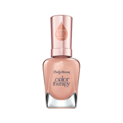Лак для ногтей Sally Hansen Color Therapy™ 484 (Цвет 484 Warm and Toasty variant_hex_name C98A79) лак для ногтей sally hansen color therapy™ 200 цвет 200 powder room variant hex name dcc1ba