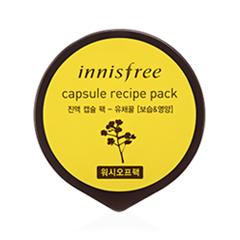 Маска InnisFree Capsule Recipe Pack Canola Honey (Объем 10 мл) the yeon canola honey polish water вода увлажняющая для лица 270 мл