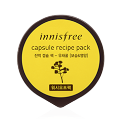 Маска InnisFree Capsule Recipe Pack Canola Honey (Объем 10 мл) the yeon canola honey ampoule propolis сыворотка ампульная с прополисом и медом 50 мл