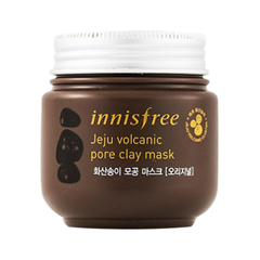 Маска InnisFree Jeju Volcanic Pore Clay Mask (Объем 100 мл) маска matis clay mask balancing and purifying mask объем 50 мл