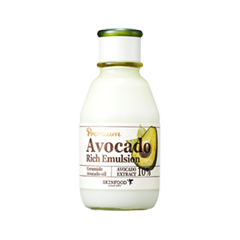 Эмульсия SkinFood Premium Avocado Rich Emulsion (Объем 140 мл) skinfood avocado маска ночная для лица avocado маска ночная для лица