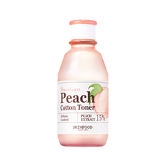 Тоник SkinFood Premium Peach Cotton Toner (Объем 175 мл)