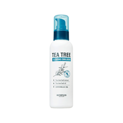 Эмульсия SkinFood Tea Tree Cleansing Emulsion (Объем 135 мл) phytomer эмульсия очищающая тонизирующая ogenage toning cleansing emulsion 250мл