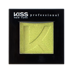 Тени для век Kiss New York Professional Single Eyeshadow 35 (Цвет 35 Jardin variant_hex_name C9CF66) помада kiss new york professional ulti matte lip crayon 13 цвет 13 hell s kitchen variant hex name ed657d