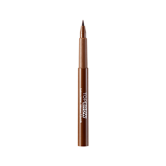 Подводка для бровей Kiss New York Professional Top Brow™ Brow Gel Marker 02 (Цвет 02 Dark Brown variant_hex_name 8A583D) yves rocher 03 кисть для тонального крема