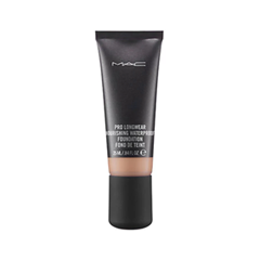 Тональная основа MAC Cosmetics Pro Longwear Nourishing Waterproof Foundation NW20 (Цвет NW20 variant_hex_name F2BA8F) кабель питания 20 shippment mac pro g5 mac 6pin 2 pci e 6pin 4500 gtx285 hd4870 hd5770 gtx285