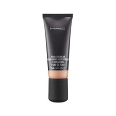 Тональная основа MAC Cosmetics Pro Longwear Nourishing Waterproof Foundation NW25 (Цвет NW25 variant_hex_name DC9F6F) тональная основа mac cosmetics pro longwear nourishing waterproof foundation nw20 цвет nw20 variant hex name f2ba8f