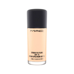 Тональная основа MAC Cosmetics Studio Fix Fluid SPF15 NC10 (Цвет NC10 variant_hex_name FEDDBA) лосьон лосьон mac l s fix 100ml