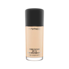 Тональная основа MAC Cosmetics Studio Fix Fluid SPF15 NC15 (Цвет NC15 variant_hex_name DDB68E) лосьон лосьон mac l s fix 100ml