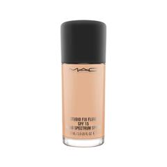 Тональная основа MAC Cosmetics Studio Fix Fluid SPF15 NW25 (Цвет NW25 variant_hex_name E0AD8B) крем mac cosmetics studio moisture cream объем 50 мл