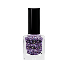 Лак для ногтей Catrice Dazzle Bomb Dazzle Nail Lacquer C03 (Цвет C03 Amethyst variant_hex_name 78668d) misslyn верхнее покрытие glitter flash nail lacquer 714