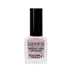 Лак для ногтей Catrice Dazzle Bomb Dazzle Nail Lacquer C01 (Цвет C01 Rose Quartz variant_hex_name c8abb6) лаки для ногтей с эффектами catrice chrome infusion nail lacquer 05 цвет 05 enchanted camouflage variant hex name ab7e51