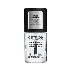 Базы и топы Catrice Dazzle Bomb Glitter Peel-Off Base & Top Coat (Объем 12 мл) off shoulder hollow out self tie top