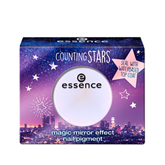 Дизайн ногтей essence Counting Stars Magic Mirror Effect Nail Pigment 01 (Цвет 01 a sky full of stars variant_hex_name E1DEF4) sasha petit gâteau хлопковый комплект летний сад