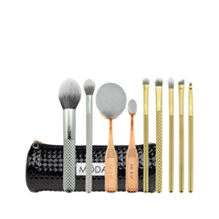Набор кистей для макияжа Royal & Langnickel MODA® Metallics Deluxe Gift Kit