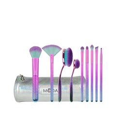 Набор кистей для макияжа Royal & Langnickel MODA® Prismatic Deluxe Gift Kit fabrik cosmetology кисть для нанесения макияжа