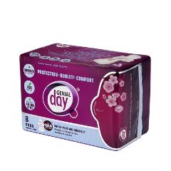 Интимная гигиена Genial Day Гигиенические женские ночные эко-прокладки с анионовой полоской прокладки клапанной крышки honda vtr1000f