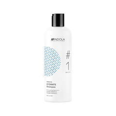 Шампунь Indola Hydrate Shampoo # 1 Wash (Объем 300 мл) print bar