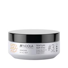 Воск Indola Texture Soft Clay (Объем 85 мл) бальзамы indola бальзам indola keratin straight 150 мл