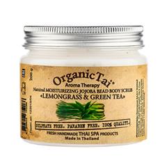 цена на Скрабы и пилинги Organic Tai Увлажняющий скраб для тела Лемонграсс и зеленый чай (Объем 200 мл)