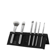 Набор кистей для макияжа Royal & Langnickel MODA® Metallics 7pc Silver Total Face Kit fabrik cosmetology кисть для нанесения макияжа